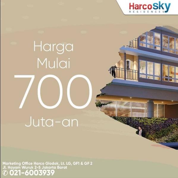 Apartemen Harco Sky Residences